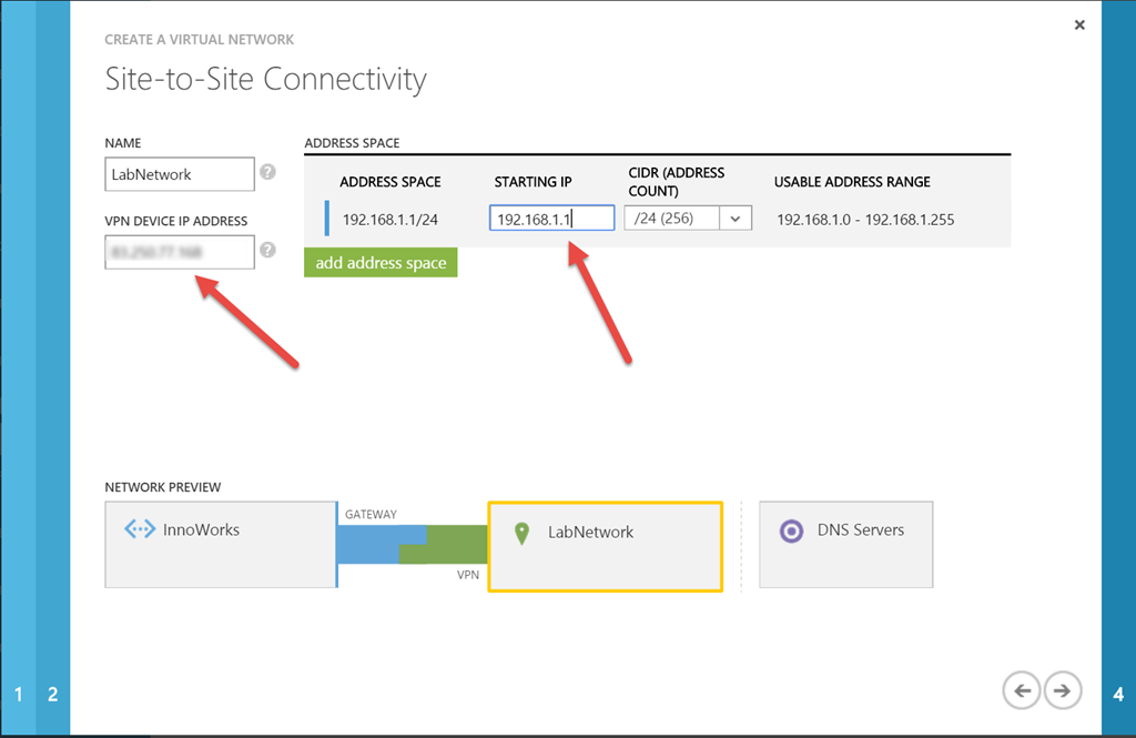 Set up Site-to-Site VPN from pfSense and Microsoft Azure